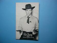 1947/66 ACTORS & ACTRESSES EXHIBIT CARD PHOTO PAT CONWAY SHARP SHERIFF HOLLISTER