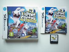 Lapins Crétins La grosse aventure Jeu Vidéo Nintendo DS