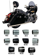 45005-250-PKG Rush Racing War Horse Slip-Ons with Tips Chrome 2014-2016 Indians
