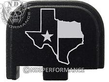 for Glock 42 ONLY Rear Slide Cover Plate .380 Cal G42 Black Texas State Border 2