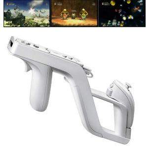für Nintendo Wii/Wii U Remote Controller& Nunchuck Game  Zapper Gun/Phaser/Rifle