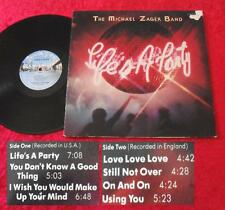 The Michael Zager Band LP Life's a party (Vinyl TOP ZUSTAND!)