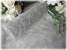 (1,10/m)  25m x 30cm Tischband silber Hochzeit  Silberne Hochzeit 25 Jahre