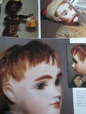 9pg Jules STEINER Doll MAGAZINE  Article RARITIES/CURIOSITIES Walking/Kicking
