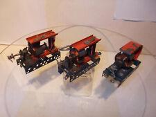 3 alte Elektro-Motoren für Trix Metallbaukasten/Bastler...60er Jahre