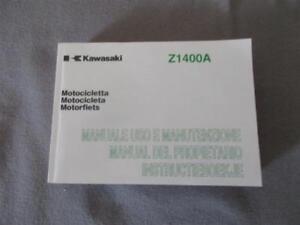 Kawasaki Z 1400 A Manual Operating Instructions 99976-1367