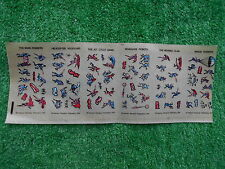 VINTAGE 1966 BATMAN PERIODICAL PUBLICATIONS TRANSFERS RUB DOWN BRAND NEW UNUSED