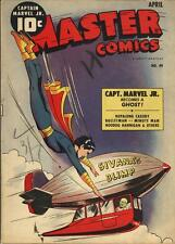 Master Comics #49 Photocopy Comic Book, Captain Marvel Jr., Bulletman