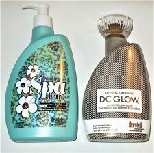 NEW 2017 DEVOTED CREATIONS DC GLOW WHIPPED BODY CREME + SPA LUXURY TAN EXTENDER