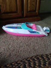 Barbie speed boat fish & seahorses