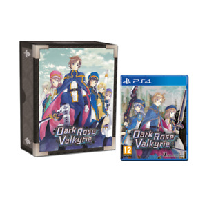 Dark Rose Valkyrie Limited Edition (PS4) DAMAGED ART BOOK & BOX PLEASE SEE PICS