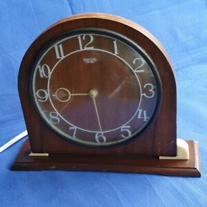 Vintage Smiths Sectric Wood & Bakelite Electric Mantle Clock -FOR SPARES/REPAIRS