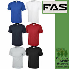 T-Shirts Short Sleeve 100% Cotton Plain Tee Men Women Plain Summer Crew Neck Top