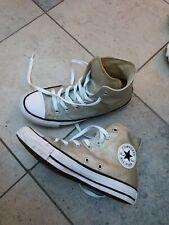 Converse All Star Gold Glitter Size 37.5, Uk  5 1/2