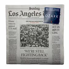2020 LA TIMES Newspaper - Chicano Moratorium of 1970 East LA Los Angeles Mexican