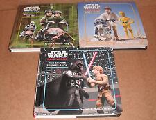 Lot of 3 Star Wars Epic Yarns by Jack Wang and Holman Wang Hardcover NEW