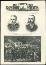 1888 - LONDON WESTMINSTER PARLIAMENT TORCHLIGHT PROCESSION KINGSTOWN DUBLIN (20)