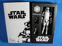 "2015 SDCC Star Wars Force Awakens First Order Stormtrooper 6"" Black Series"