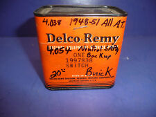 NOS OEM GM Delco Remy 1948-51 Buick A.T. Neutral Saftey Backup Switch CT15