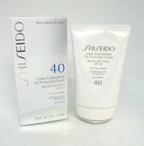 Shiseido Urban Environment UV Protection Cream SPF 40 ~ 1.9 oz. ~ BNIB