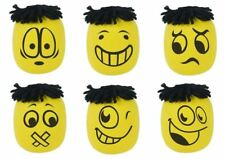 Smiley Emoji Moody Face Stress Ball Squishy Novelty Party Bag Filler Toy