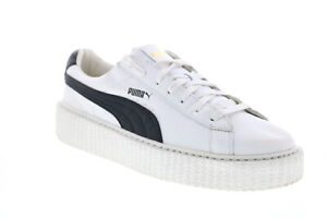 Puma X Fenty by Rihanna Creeper 36464001 Womens White Lifestyle Sneakers Shoes