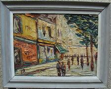 Preben Rasmussen*1919, Personen beim Place du Tertre, Paris, um 1950