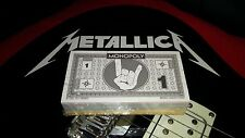RARE NEW OFFICIAL Collector's Edition METALLICA Monopoly Money Pack HardWired