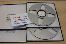 Tape Reel  282 mm, 1 pair, NAB, SONDERGROESSE f. Studer, Revox  -NEU- Art.FS-282