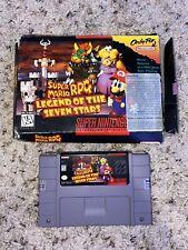 Super Mario RPG: Legend of the Seven Stars SNES Super Nintendo