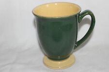 1 Denby Mug Dark Green Outside Yellow Inside