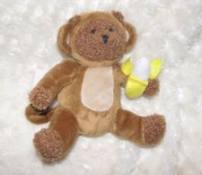 BABY GAP BRANNAN TEDDY BEAR BROWN STUFFED PLUSH DRESSED IN MONKEY BANANA COSTUME