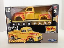 Maisto Color Shop Edition 1948 Ford F-1 Pickup Diecast Kit