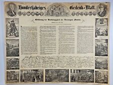 U.S. Declaration of Independence in German - VERY RARE