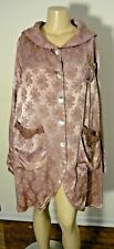 MAGNOLIA PEARL VINTAGE SILK JACKET LACE SHELL BUTTONS EMBROIDERY RARE!!