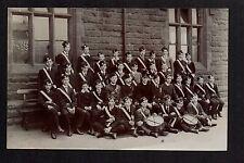 Horsforth Church Lads Brigade 1910 - near Leeds - real photographic postcard