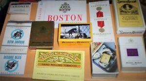Matchbox Labels / cigarette pkt covers lot 1