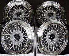 """Llantas de aleación x 4 17"""" SPL Dare RS se ajusta a Mercedes C E Clase CLC SL SLK W171 M12 de la SEC"""