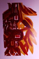 HAP Grieshaber(9) -  Farbholzschnitt , Reprodruck