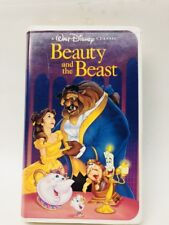 WALT DISNEY BEAUTY AND THE BEAST ORIGINAL VHS Black Diamond 1992 The Classics