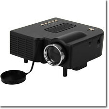Proiettore Portatile LED Videoproiettore Mini Home Cinema PC USB/SD/AV/HDMI/VGA