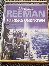 DOUGLAS REEMAN - TO RISKS UNKNOWN - Chivers audio book 10 CASSETTE