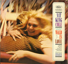 "NAT KING COLE ""WILD IS LOVE"" JAZZ VOCAL 60'S LP CAPITOL W 1392"