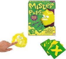 Mattel MISTER PUPS Spiel ab 5 Jahre Spielspaß mit Gekicher Karten ablegen pupst