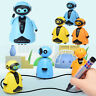 Follow Any Drawn Line Magic Pen Inductive Robot Model Children Kids Toy Gift_AU