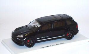 GEMBALLA GTL 600 2009 Porsche XL Cayenne 9PA schwarz black noir Spark S0732 1:43