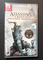 Assassin's Creed III Remastered (Nintendo Switch) NEW