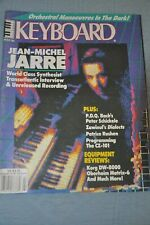 Keyboard Magazine (March 1986) Jean-Michel Jarre, Oberheim Matrix-6, Korg Dw8000