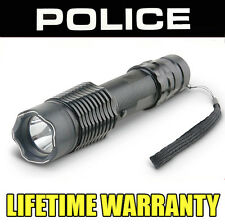 Stun Gun POLICE A2- 550,000,000 All Metal With LED Flashlight Rechargeable