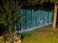 Backdrop Curtain Lights 300 LED for Christmas, Pure White, Link up to five sets.